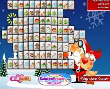 Игра Новогодний Маджонг онлайн