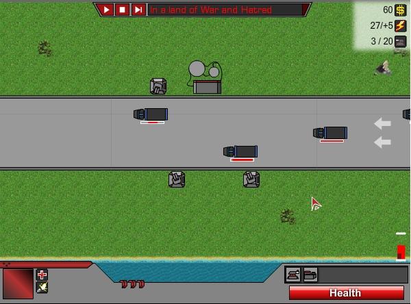 Игра Оборона дороги онлайн