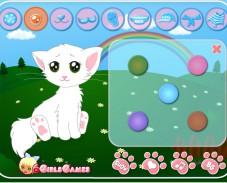 Игра Одевалка кошечка онлайн
