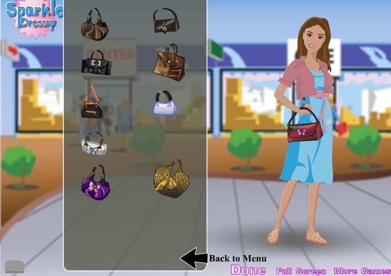 Игра Одевалка модница онлайн
