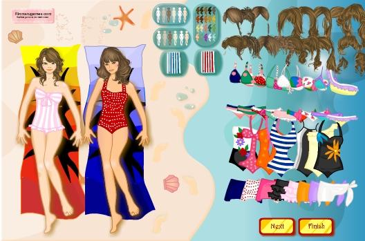 Игра Одевалка подружки онлайн