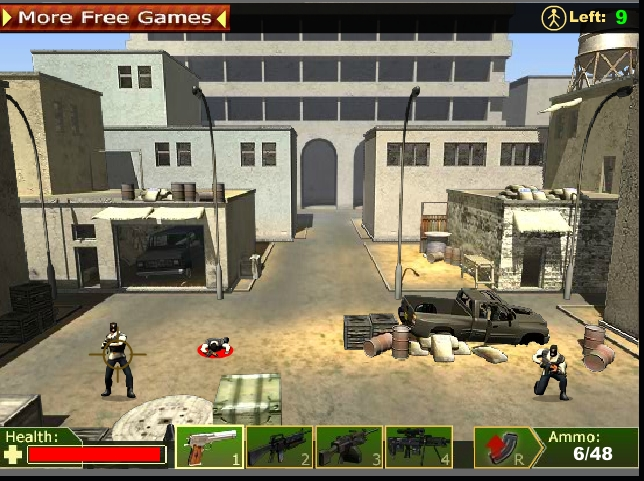 Игра Операция АнтиТеррор онлайн