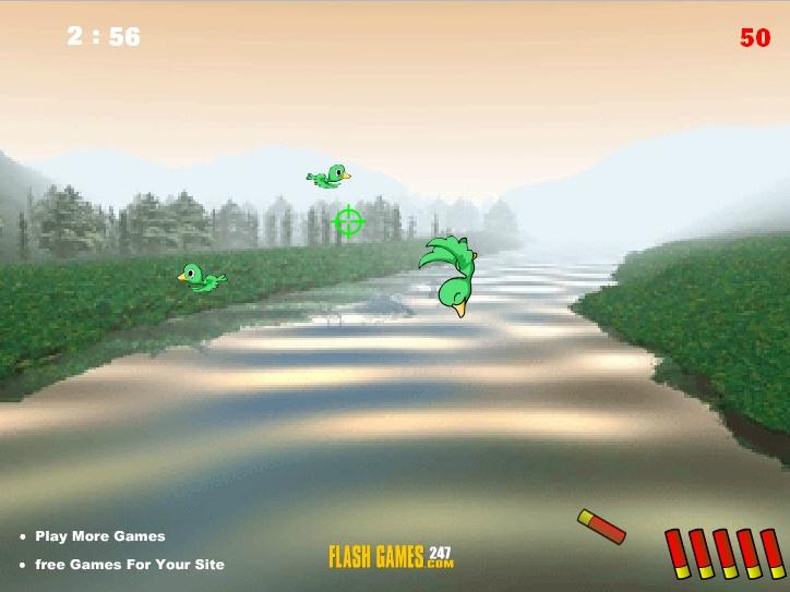 Игра Охота на утку онлайн