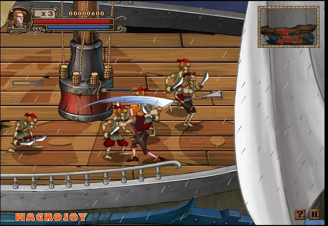 Игра Охотник на Пиратов онлайн