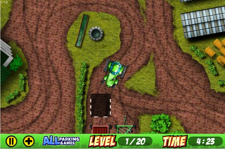 Игра Парковка трактора онлайн