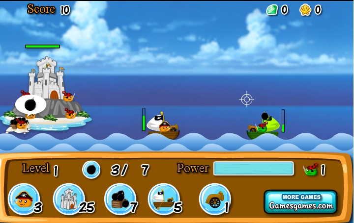 Игра Пиратские Войны онлайн