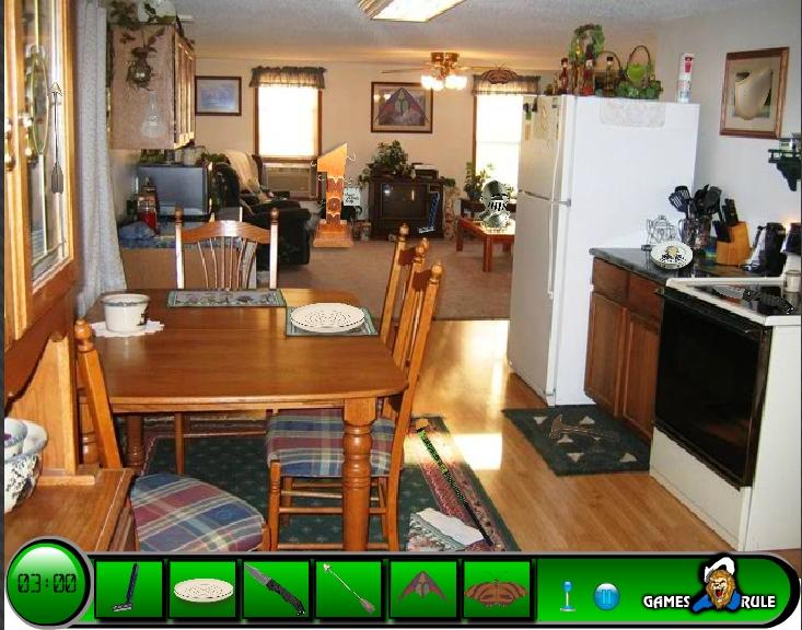Игра Поиск предметов в доме онлайн