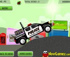 Игра Полицейский Грузовик онлайн