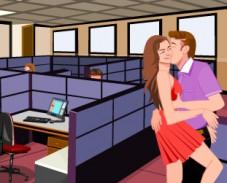 Игра Поцелуи в Офисе онлайн