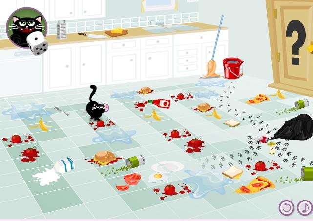 Игра Приключения Пушка на кухне онлайн