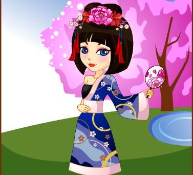Игра Принцесса из Японии онлайн