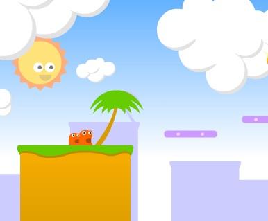 Игра Прыгающая жвачка онлайн