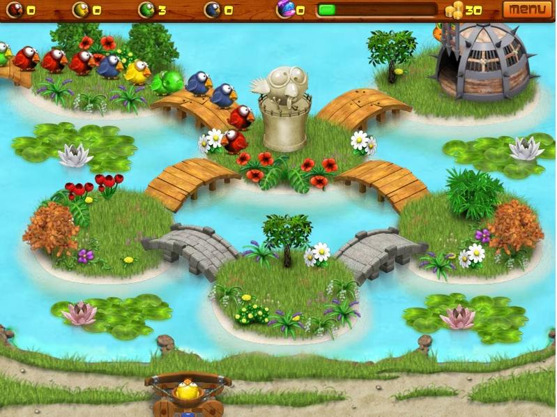 Игра Птичий город онлайн