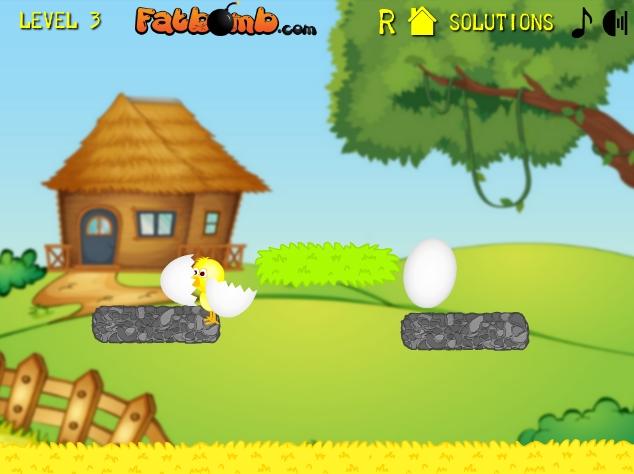 Игра Разбей яйца онлайн