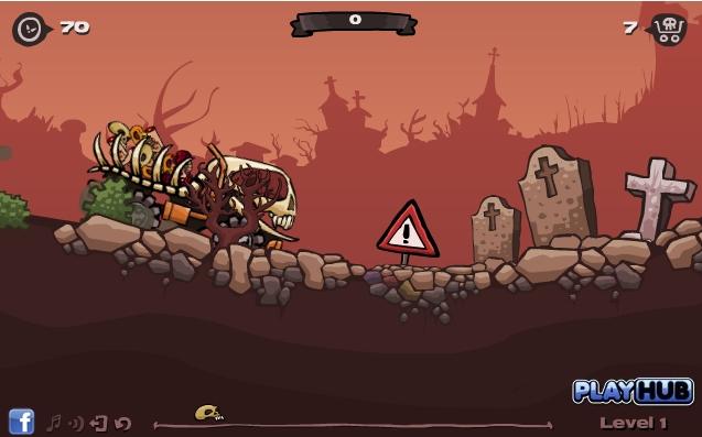 Игра Скелетовоз онлайн
