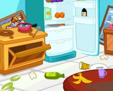 Игра Уборка кухни онлайн
