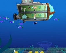 Игра Финес и Ферб на подводной лодке онлайн