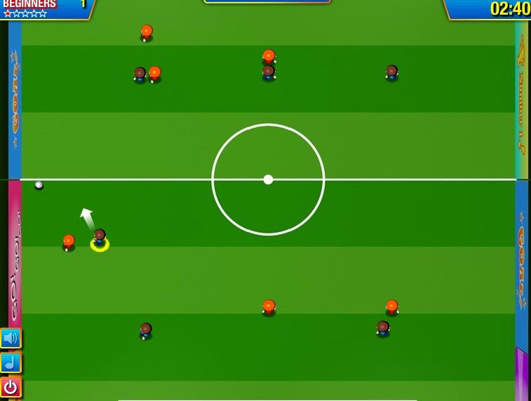 Игра Футбольная Звезда онлайн