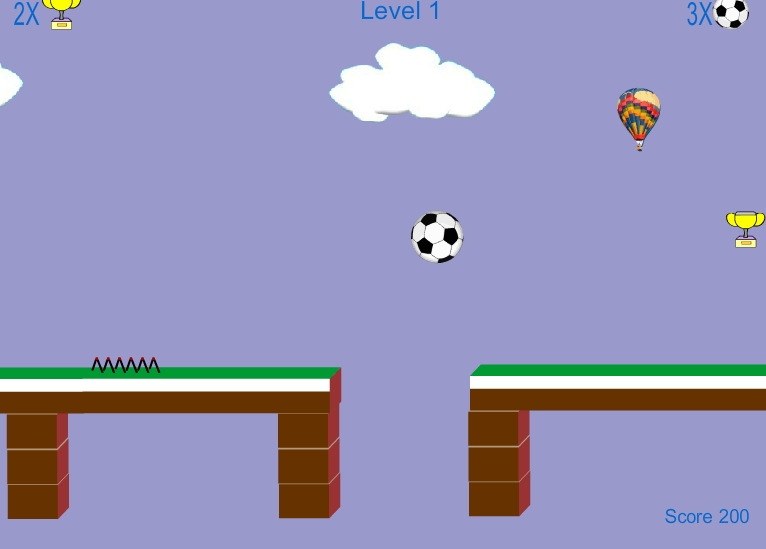 Игра Футбольный Мяч онлайн