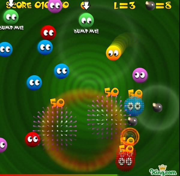 Игра Цветные шары онлайн
