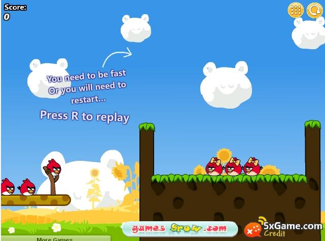 Игра Angry Birds Cannon 3 онлайн