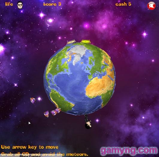 Игра Gangnam Around the World онлайн
