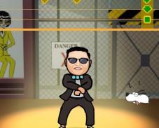 Игра Gangnam style онлайн