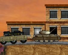 Игра Гонка на танке онлайн