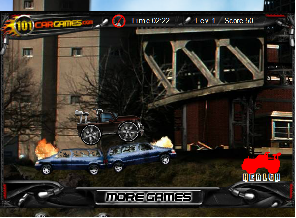 Игра Город машин онлайн