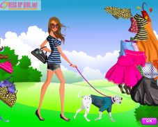 Игра Девочка и собака онлайн