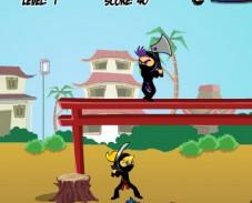 Игра Девушка ниндзя онлайн