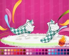Игра Дизайн обуви онлайн