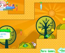 Игра Зайчик и морковка онлайн