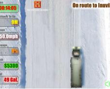 Игра Зимняя дорога онлайн