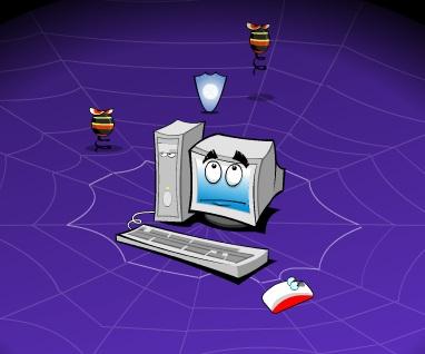 Игра Компьютерный вирус онлайн