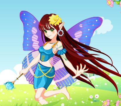 Игра Красивая фея онлайн