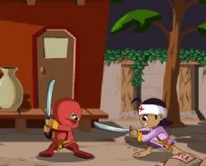 Игра Маленький ниндзя онлайн