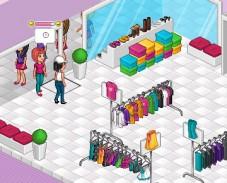 Игра Модный магазин онлайн