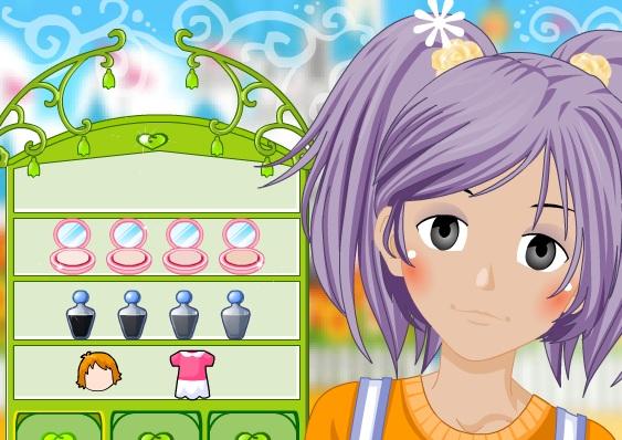Игра Накрасить девочку онлайн