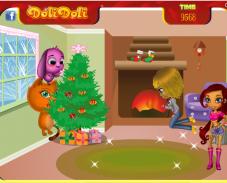 Игра Новогодняя уборка онлайн