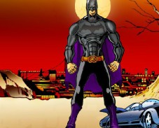 Игра Одевалка Бэтмен онлайн
