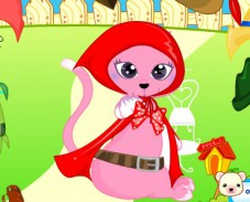 Игра Одевалка кошка онлайн