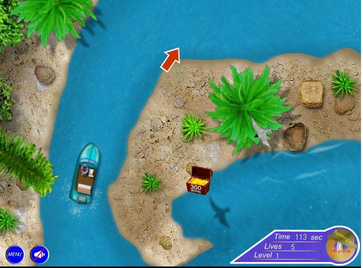 Игра Парковка лодок онлайн