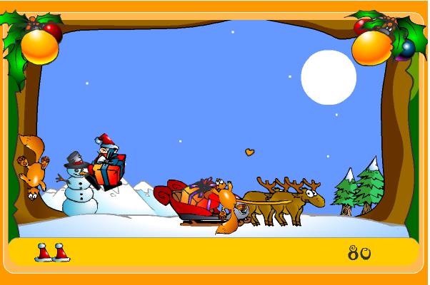 Игра Подарок на новый год онлайн