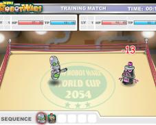 Игра Поединок роботов онлайн