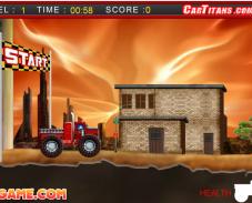 Игра Пожарная машина онлайн