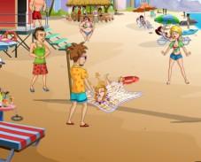 Игра Приколы на пляже онлайн