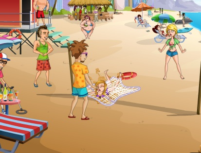 Фото приколы на пляже девушки — photo 7