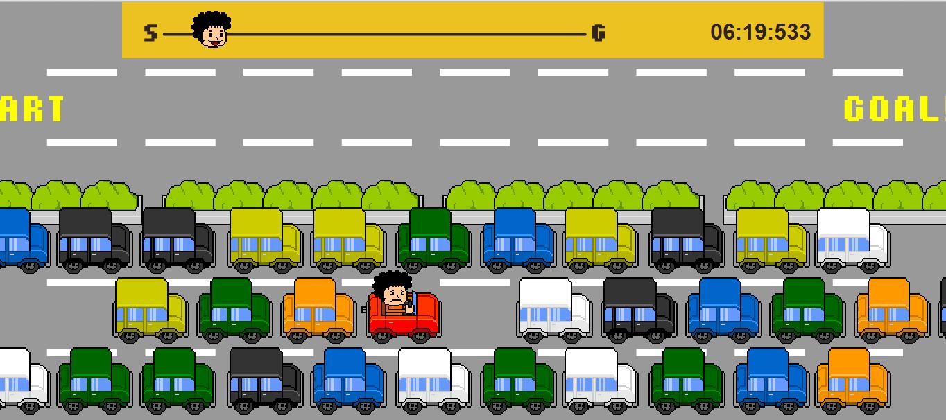 Игра Пробка на дороге онлайн