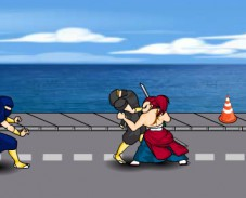 Игра Самурай против ниндзя онлайн